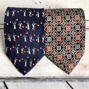 3 for $23 Bundle of 2 classic coordinated ties